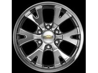 GMC Canyon 18-Inch Wheel,Note:ST204 Chrome; - 17801205