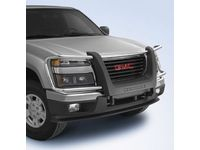 GMC Canyon Brush Grille Guard,Note:Canyon Logo,Chrome; - 12499254