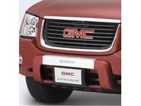 GMC Front Fascia Extension,Color:Red; - 12498673