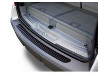 Pontiac Rear Bumper Fascia Protector,Color:Black; - 12499857