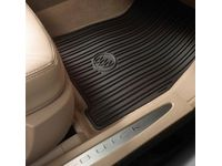 Buick Lucerne Floor Mats - Premium All Weather,Front,Note:Tri-Shield Logo,Ebony; - 17800177