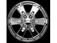 GMC Canyon 18-Inch Wheel,Note:ST207 Chrome; - 17801208