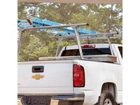 Chevrolet Complete Rack Ladder Rack by TracRac®,Note:With 2 Cross Bars; - 19299115