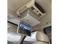 GMC Sierra Rear Seat Entertainment