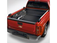 GMC Tubular Bed Rails,Note:Chrome,6'6-Inch Standard Box; - 19172753