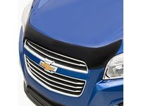 Chevrolet Trax Aeroskin™ Hood Protector in Smoke Black by Lund® - 19331070