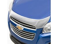 Chevrolet Trax Aeroskin™ Hood Protector in Chrome by Lund® - 19331071