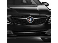 Buick LaCrosse Grille in Black with Ebony Twilight Metallic Surround and Buick Logo - 26690760