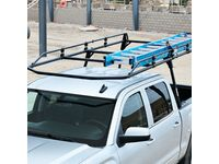 Chevrolet Steel Full-Frame Ladder Rack by TracRac a Division of Thule - 19354860