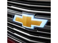 Chevrolet Tahoe Front Illuminated Bowtie Emblem in Gold - 84138216