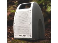 GMC Terrain Bullfrog® BF400 Portable Bluetooth® Waterproof Speaker in White/Gray by Kicker® - 19367000