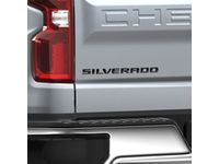 Chevrolet Silverado 6.2L Emblem Package in Black - 84300960