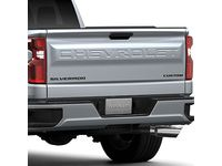 Chevrolet Silverado Custom Emblems in Black - 84300948