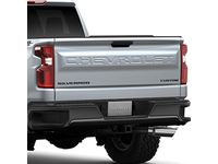 Chevrolet Silverado Custom Trail Boss Emblem Package in Black - 84300956