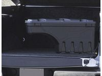 Chevrolet Silverado Passenger Side Swing-Out Tool Box in Black by UnderCover™ - 19332690