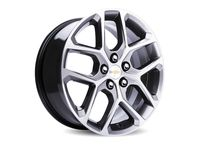 Chevrolet Cruze 17x7.5-Inch Aluminum 5-Split-Spoke Wheel in Midnight Silver - 23322703