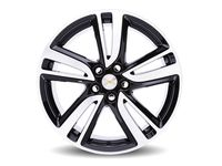 Chevrolet Cruze 18x7.5-Inch Aluminum 5-Split-Spoke Wheel in High Gloss Black - 84012907