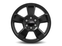 Chevrolet Tahoe 20x9-Inch Aluminum 5-Spoke Wheel in Black - 23431107