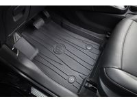 Buick Encore First-Row Premium All-Weather Floor Liners in Ebony with Buick Logo - 42533128