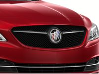 Buick LaCrosse Grille in Chrome with Red Quartz Tintcoat Surround - 26213297