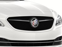 Buick LaCrosse Grille in Black with White Frost Tricoat Surround - 26690759