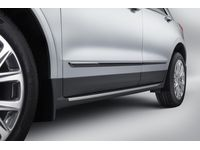 Cadillac XT5 Front and Rear Door Moldings in Black Ice - 23252585