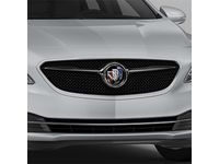 Buick LaCrosse Grille in Black with Quicksilver Metallic Surround - 26690756