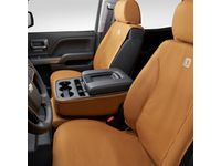Chevrolet Colorado Carhartt Crew Cab Front Seat Cover Package in Brown - 84301777