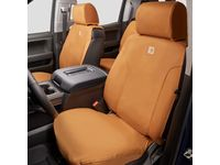 Chevrolet Tahoe Carhartt Front Bucket Seat Cover Package in Brown - 84277439