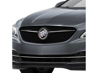 Buick LaCrosse Grille in Chrome with Satin Steel Metallic Surround - 26213298