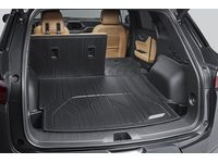 Chevrolet Blazer Integrated Cargo Area Liner in Jet Black with Chevrolet Script - 84116459