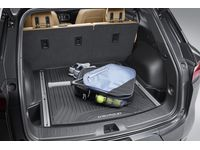 Chevrolet Blazer Premium All-Weather Cargo Area Mat in Jet Black with Chevrolet Script (for vehicles with Cargo Rails) - 84263478