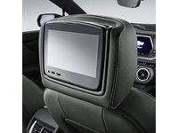 Chevrolet Blazer Rear-Seat Infotainment System in Jet Black Leather with Light Galvanized Stitching - 84352472