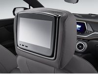 Chevrolet Blazer Rear-Seat Infotainment System in Dark Galvanized Cloth with Light Galvanized Accents - 84352477