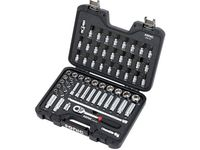 GM 19370710 61-Piece Tool Kit with 3/8-Inch Drive Socket Set in Mobile Hard Case by Sonic™ Tools