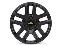 Chevrolet Tahoe 20x9-Inch Aluminum 5-Split-Spoke Wheel in High Gloss Black - 84253947