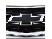 GM Front and Rear Bowtie Emblems in Black - 23287538