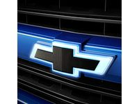 GM Front Illuminated and Rear Non-Illuminated Bowtie Emblems in Black - 84129741