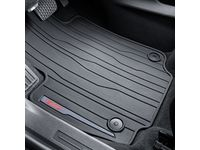 c6e200fa78 GM 23323102 Front Premium All-Weather Floor Mats in Jet Black with GMC Logo