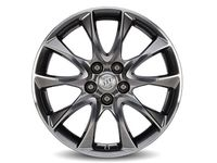 Buick 19 x 7.5-Inch 5-Split-Spoke in Midnight Silver with Ultra Bright Machine Face - 84020653