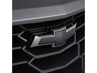 GM Front and Rear Bowtie Emblems in Black - 84219485