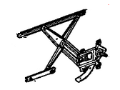 GMC Canyon Window Regulator - 15919130