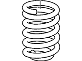 Cadillac Coil Springs - 25876860
