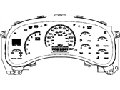Cadillac Instrument Cluster - 15135661