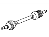 GMC Jimmy Axle Shaft - 26064387