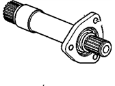 Chevrolet Drive Shaft - 22718646