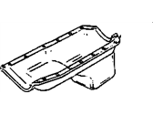 GMC Sonoma Oil Pan - 10044683