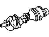 GMC K2500 Crankshaft - 14088526