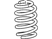 Pontiac Torrent Coil Springs - 15238962