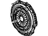 Oldsmobile Clutch Disc - 12381765